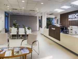MedCity Egészségközpont recepció
