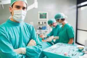 Műtét közben