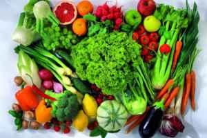 Diétás friss zöldségek